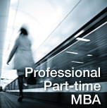 Professional Part-Time MBA
